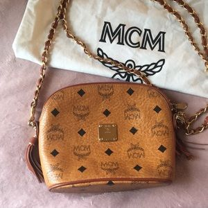 Authentic MCM Bag with Removable Strap